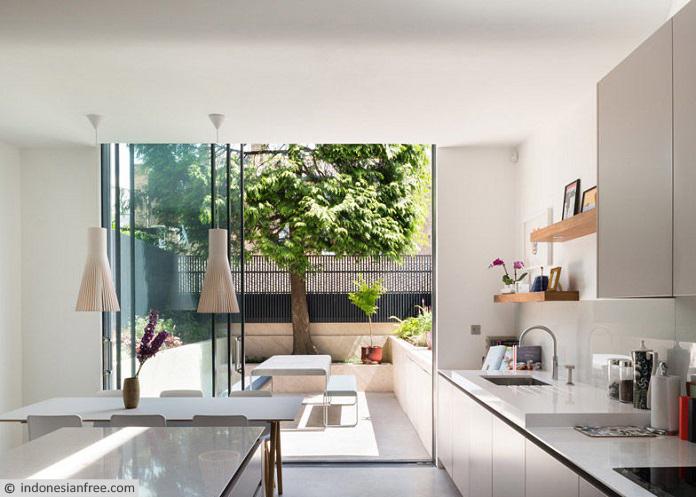 cara menghias dapur sederhana