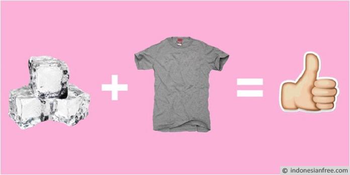 cara menyetrika baju tanpa setrika