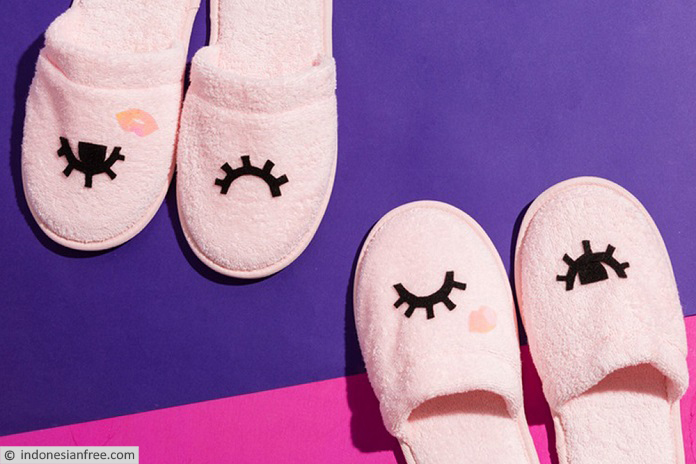 cara pembuatan sandal tidur