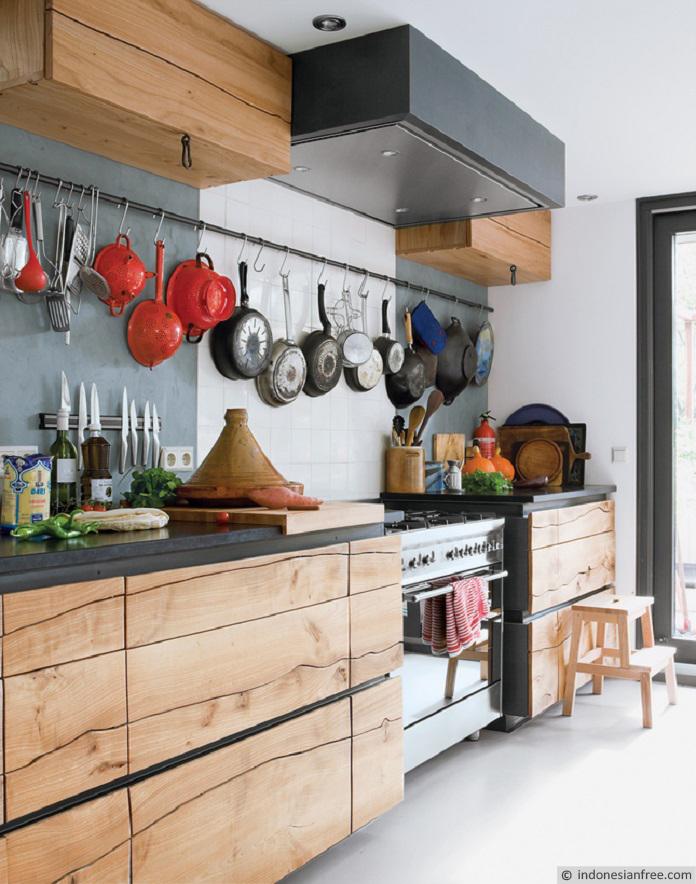 hiasan dinding dapur kecil