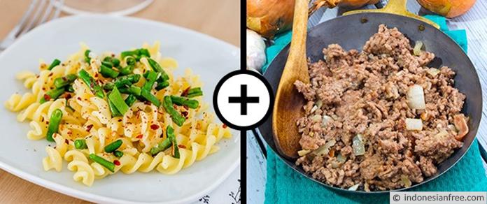 Pasta dan Daging Cincang