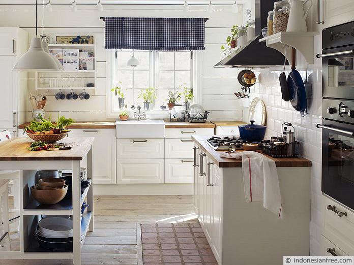 menghias dapur dengan barang bekas