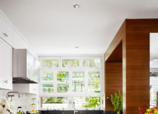 menghias dapur sempit