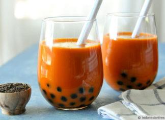 resep membuat thai milk tea
