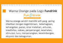 Warna orange logo fundrink