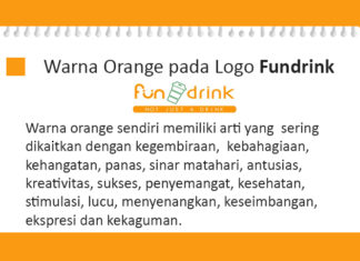 Warna orange logo fundrink