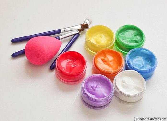 cara membuat face painting sendiri