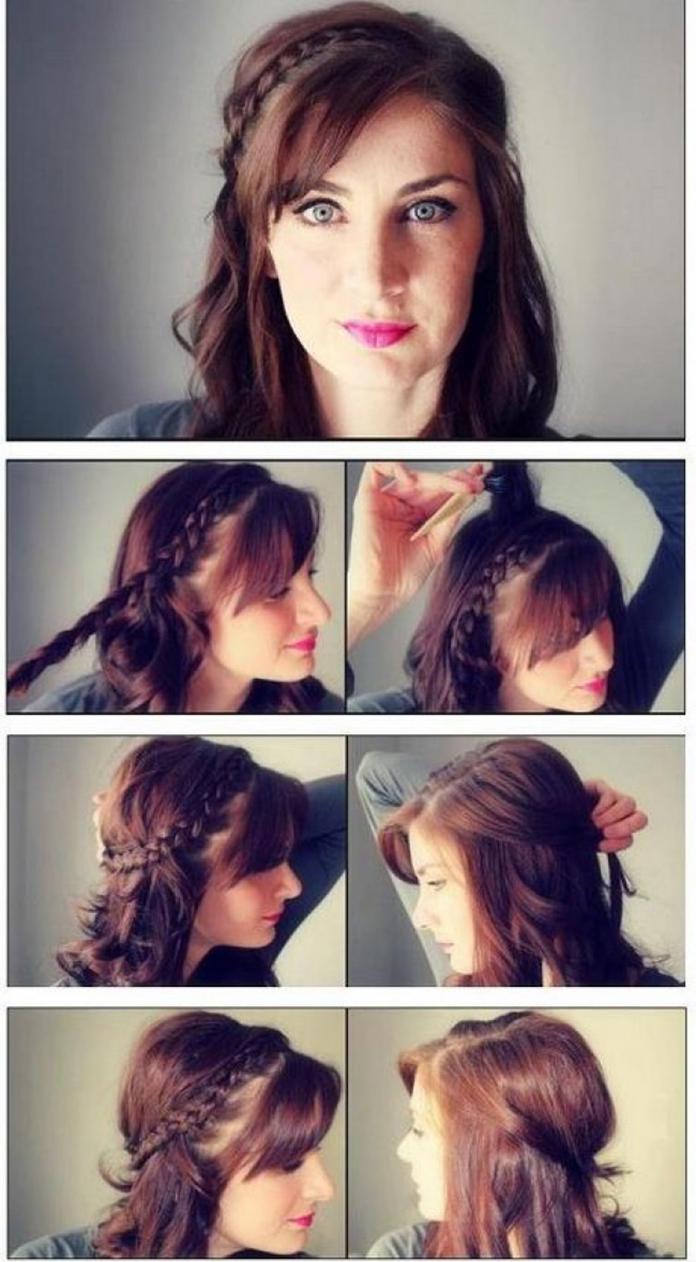 cara menata rambut panjang lurus