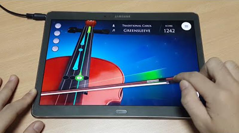 aplikasi biola di android atau smartphone dan iphone