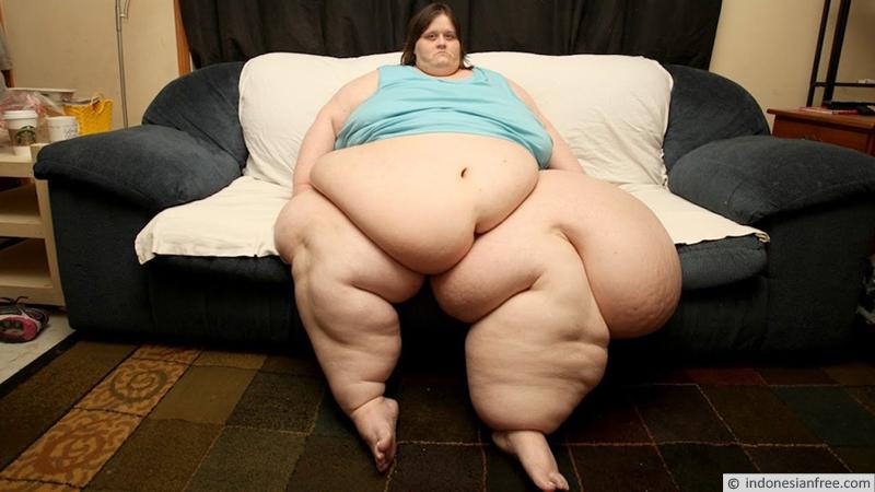 wanita paling gemuk di dunia